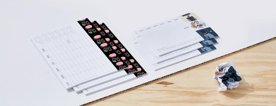 Calendari, Agende