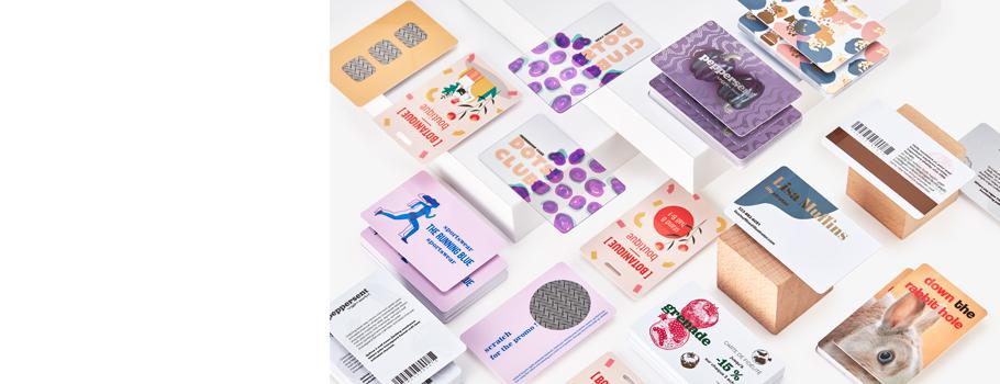Cartões em PVC