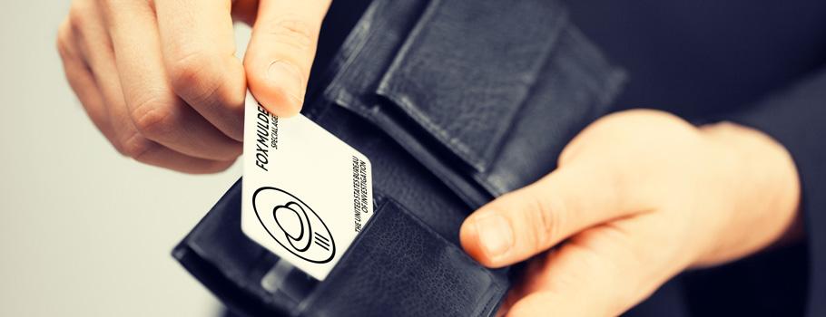Cartes en PVC
