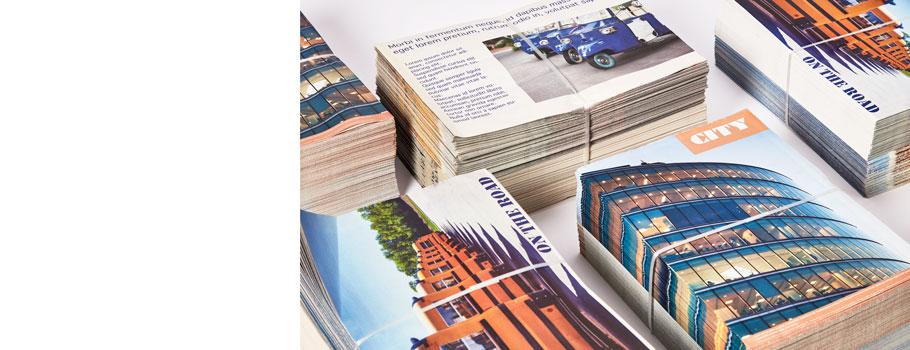 Large print-run magazines
