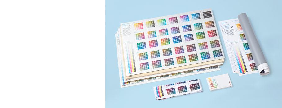 Cartas de colores