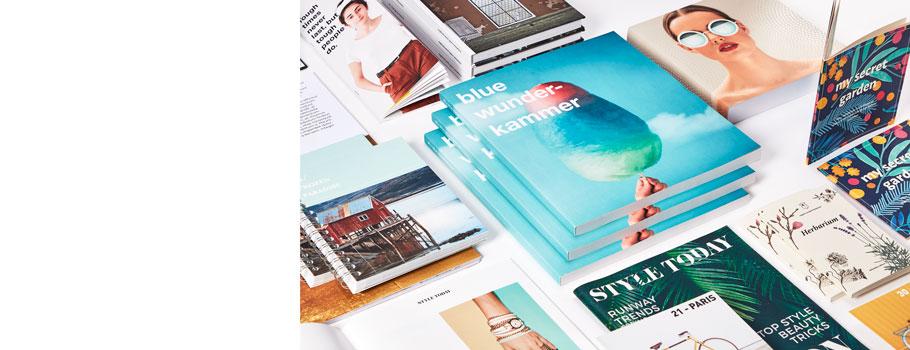 Tidningar, böcker och kataloger