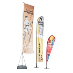 Bandeiras publicitárias