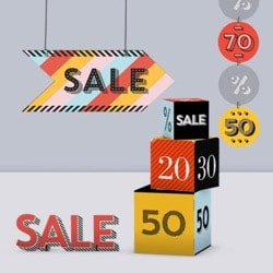 Sale decorations