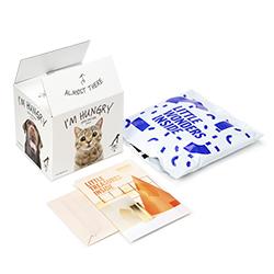 Förpackningar för postgång