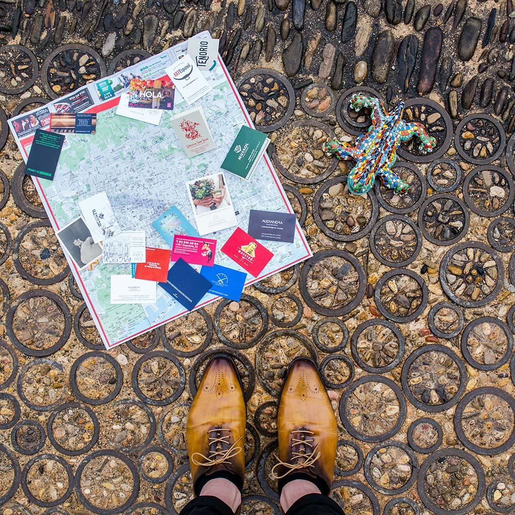 Jardines del Mirador del Alcade, Montjuïc