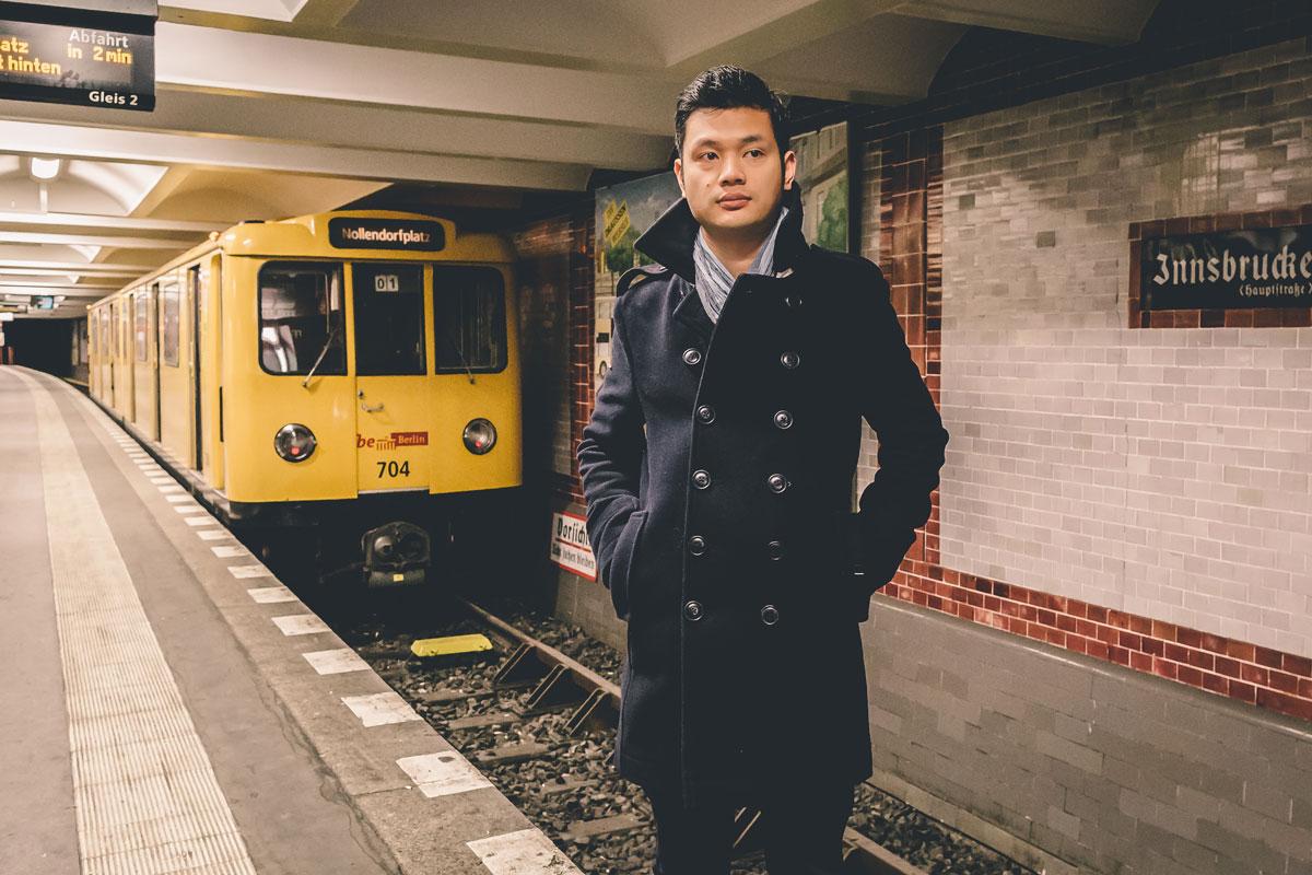 Thai Hoang:<br>U-Bahn-Neueinsteiger