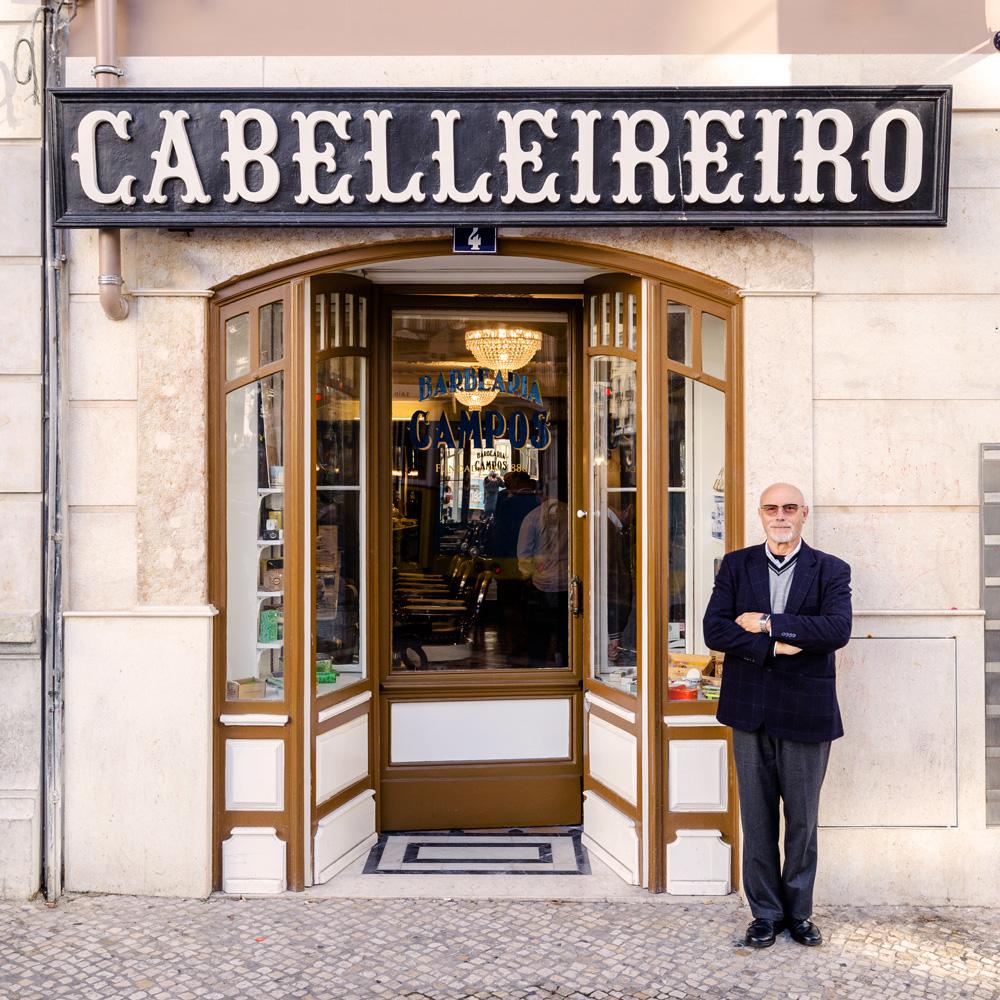 José Sá-Chaves è l'ultimo rampollo di un'epopea di barbieri