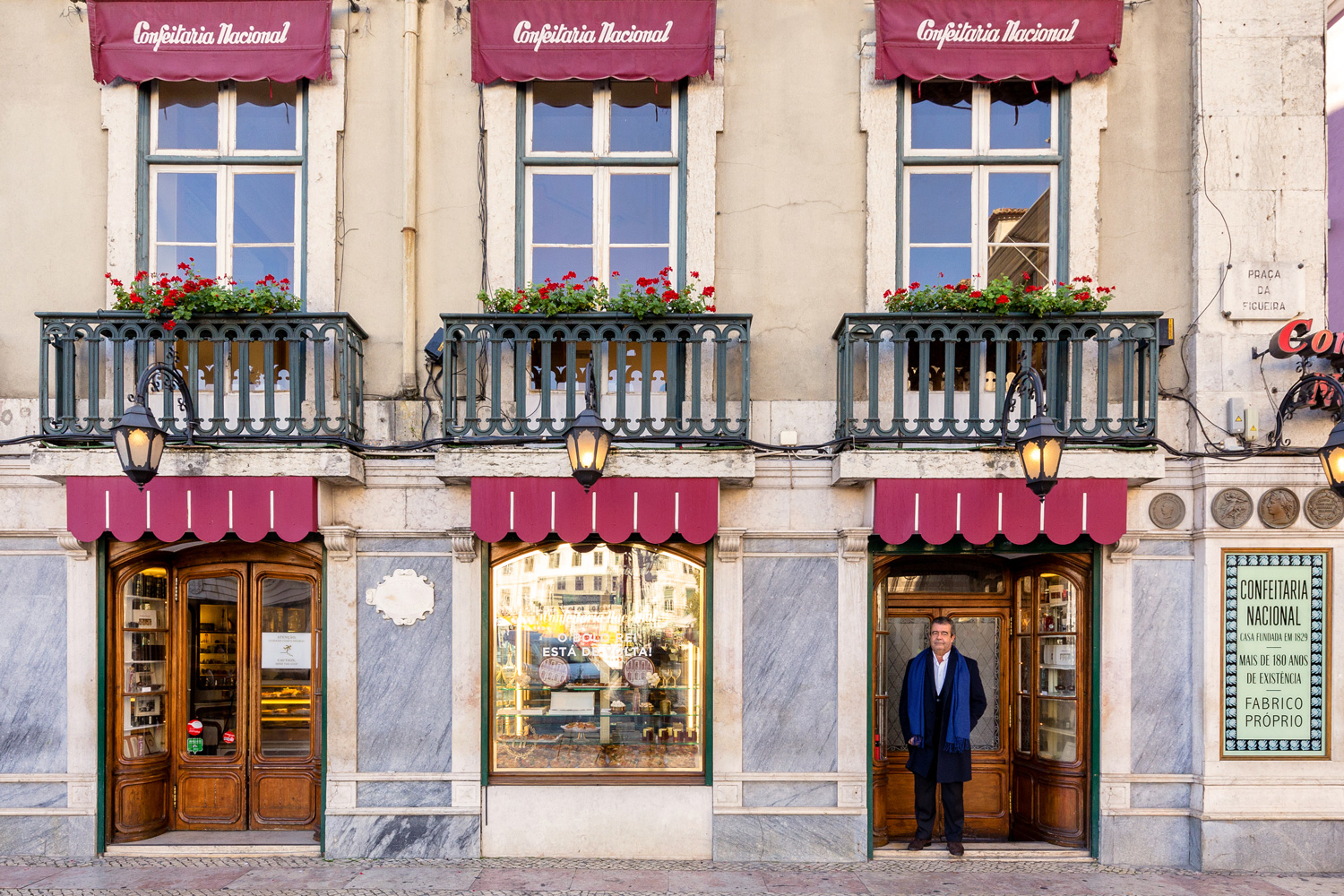 Rui Viana is the owner of Lisbon's storied pastry shop