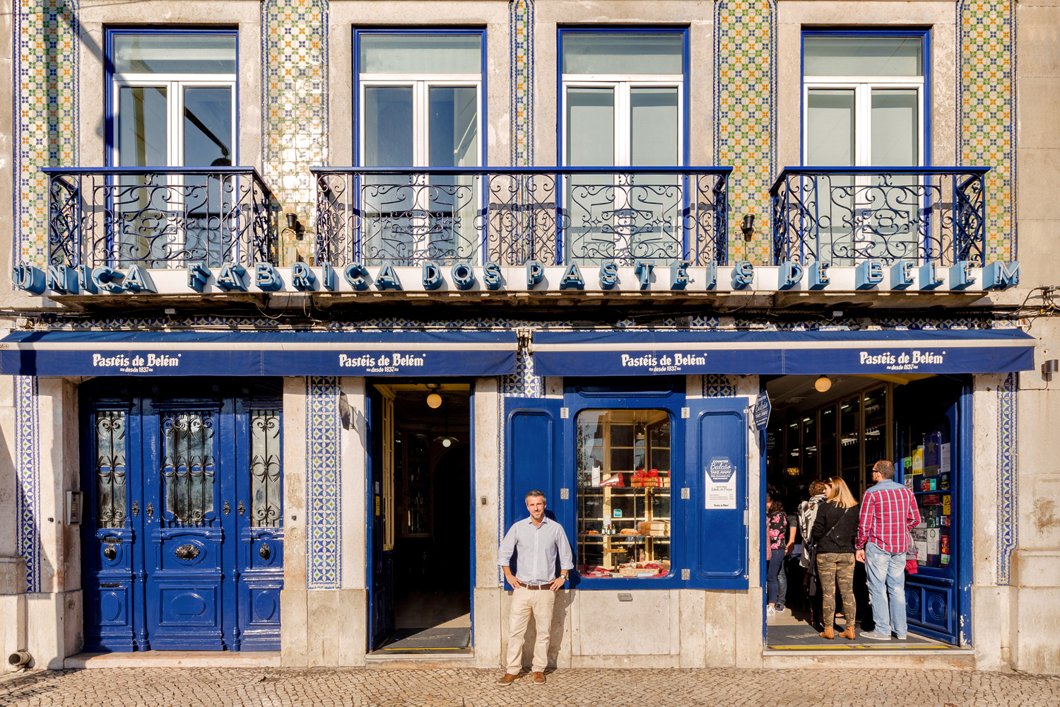 Miguel Clarinha runs what's more than a shop – it's a city landmark