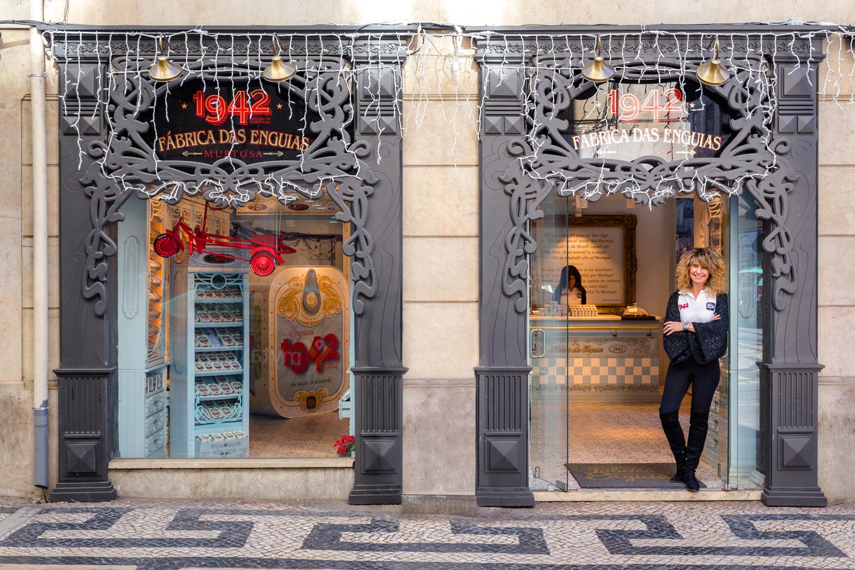 Ana Godinho Martins regenta una tienda única