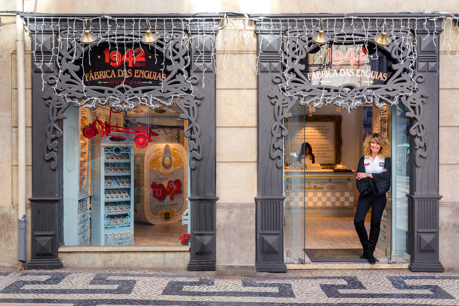 Ana Godinho Martins manages a one-of-a-kind shop