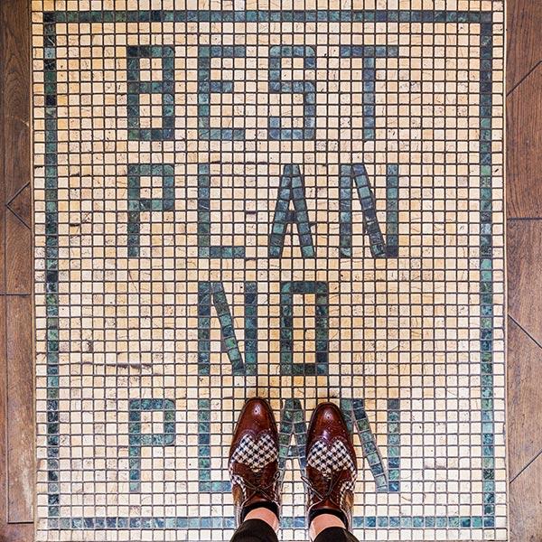 Best Plan No Plan, Kensington