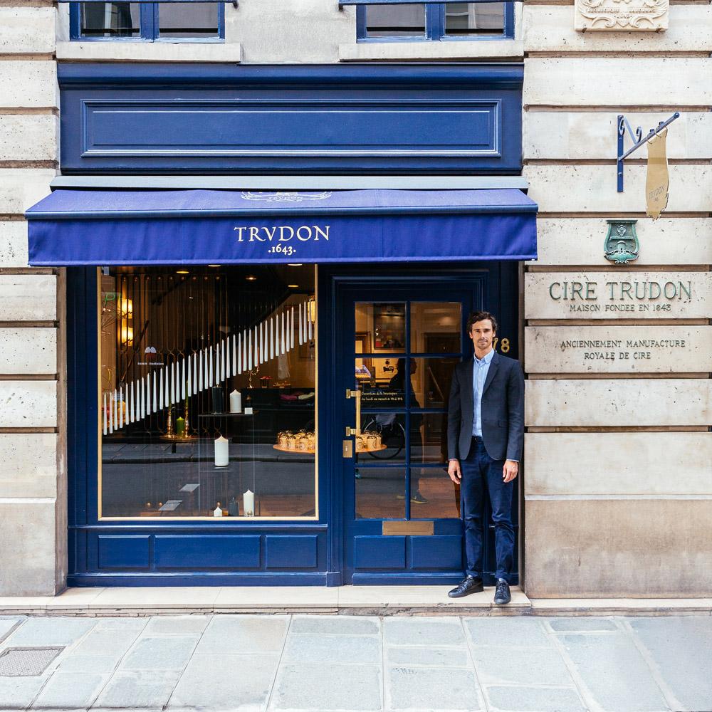 Julien Pruvost, directeur général de la plus vieille entreprise de bougies en France.