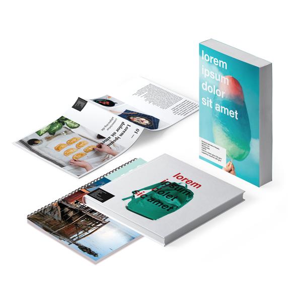 Revistas, Livros, Catálogos