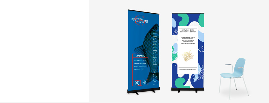 Roll-Up Schwarz