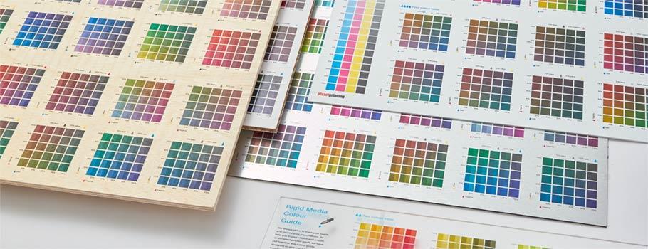 Rigid Media Colour Guide