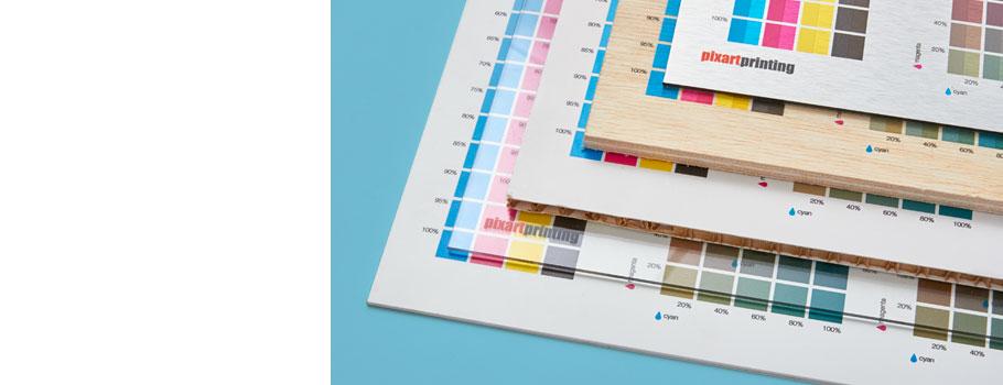 Carta de colores Materiales rígidos