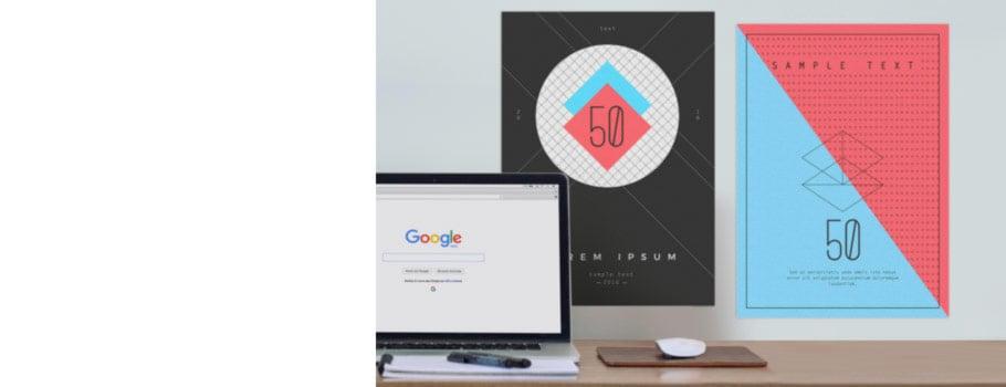 50 pósteres A3
