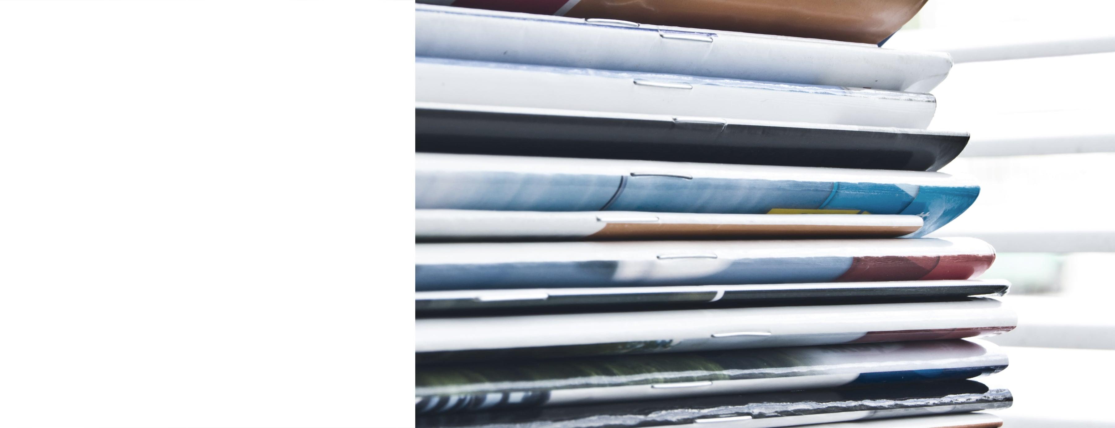 Agrafos de metal para altas tiragens