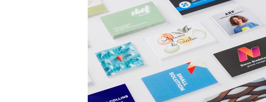 Visitenkarten aus Papier