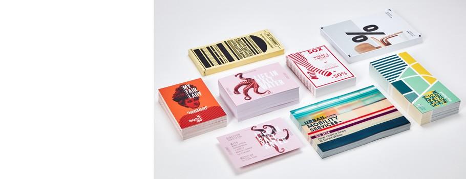 Cartões postais e convites clássicos