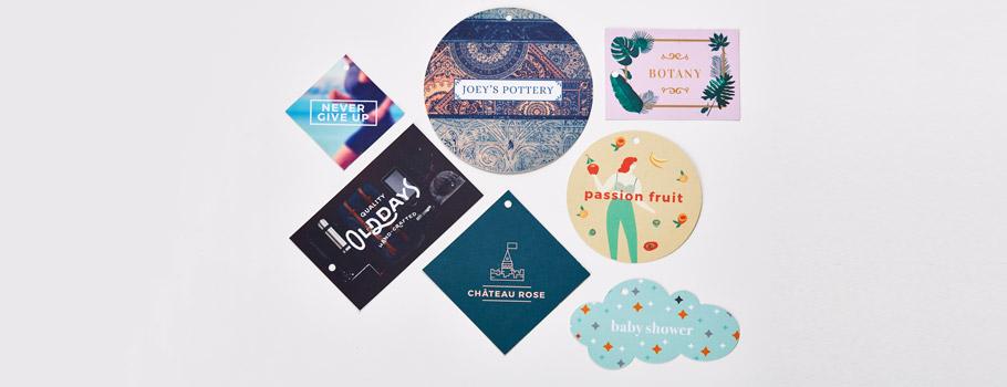 Cartellini formato personalizzato