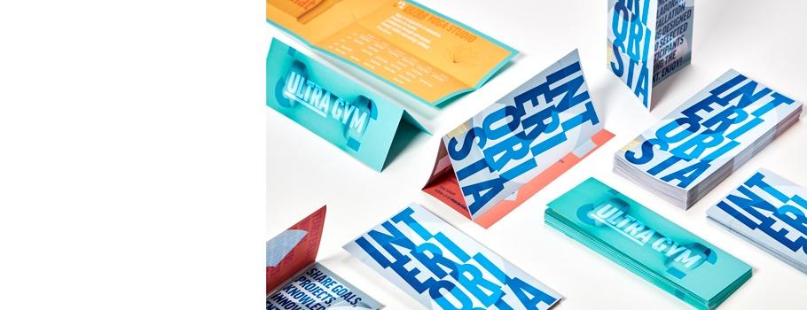 Folded flyers