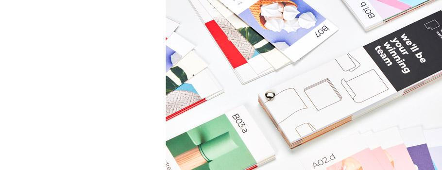 Papiermuster für Kleinformate