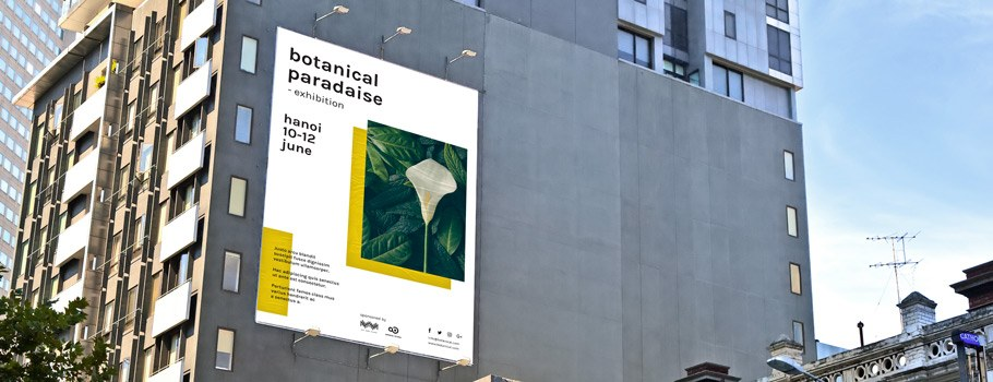 XL outdoor posters