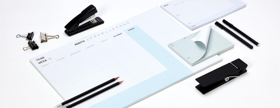 Glued Notepads