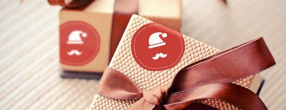 Pegatinas para regalo