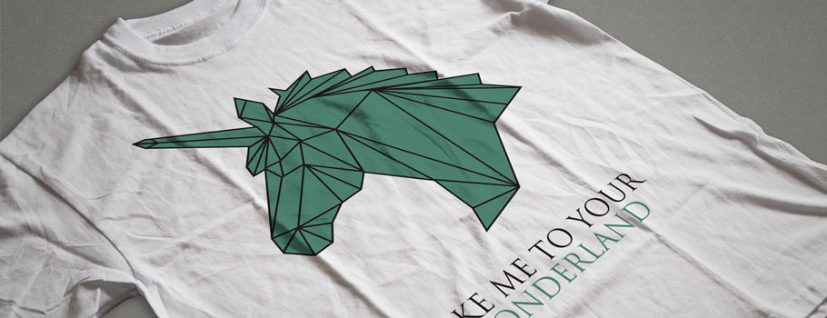 T-shirt-uri digitale
