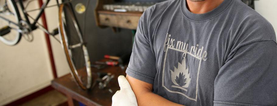 Digitally-printed T-shirts