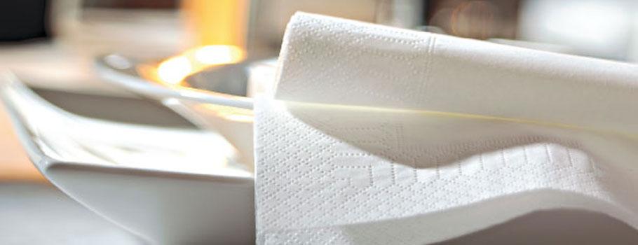 Papieren servetten
