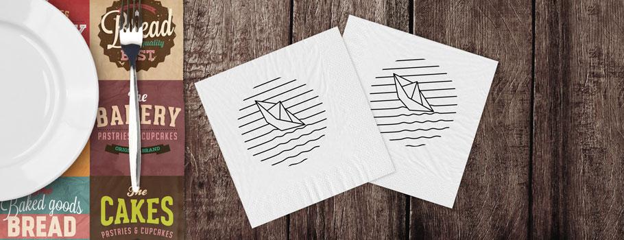 Şerveţele de hârtie