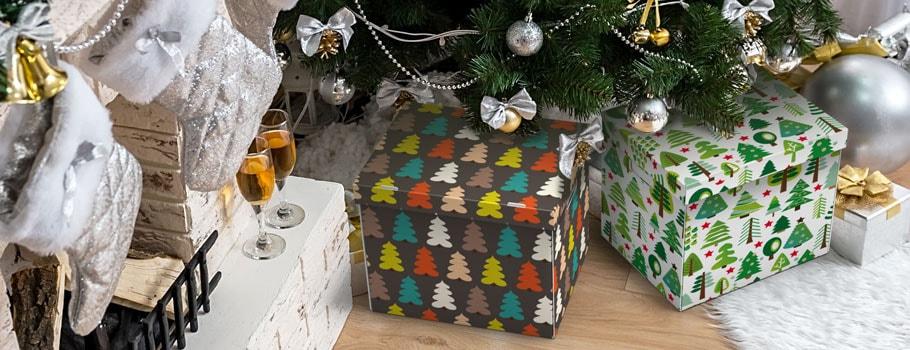 Stuttgart-låda med julmotiv
