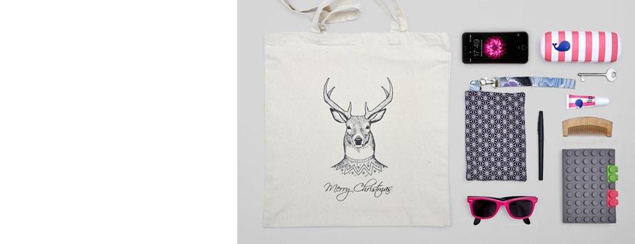 Christmas Tote Bags
