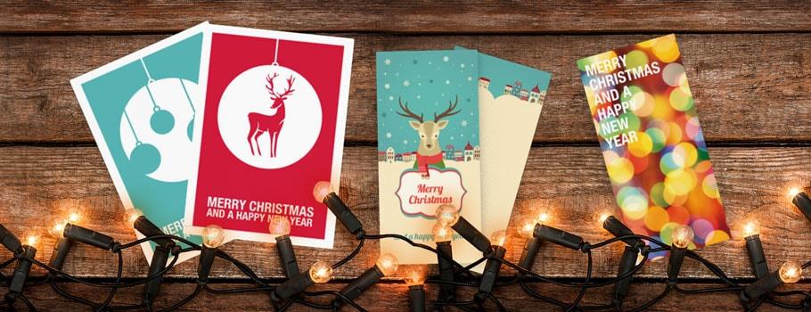 Julkort i mindre format