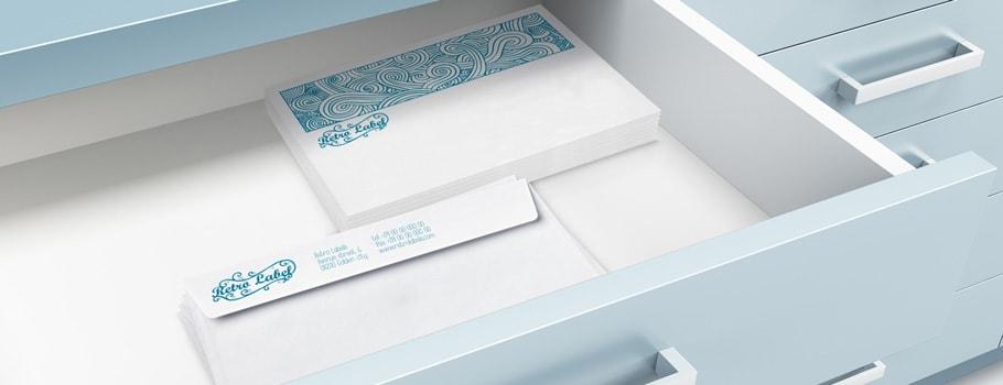 Enveloppes commerciales