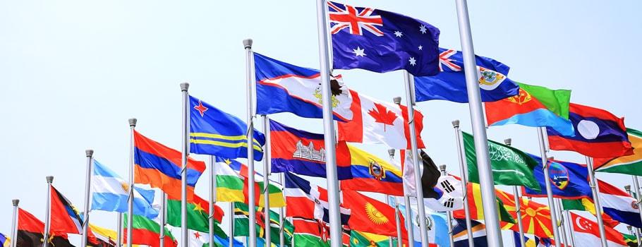 Drapeaux nationaux