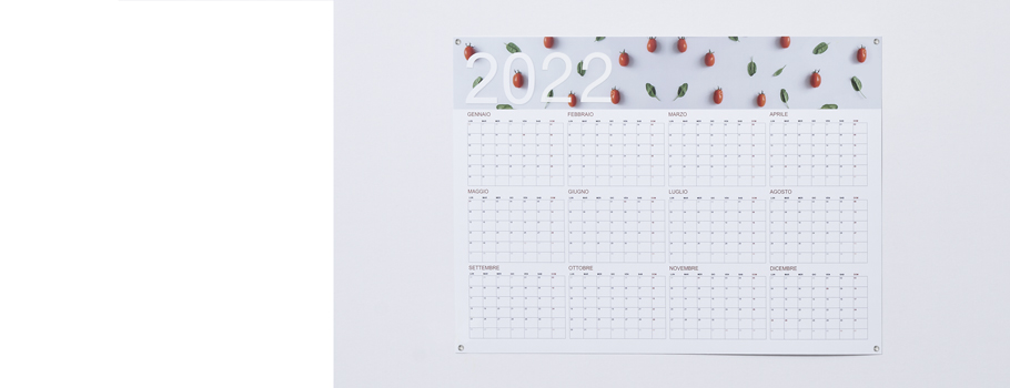 Calendriers poster