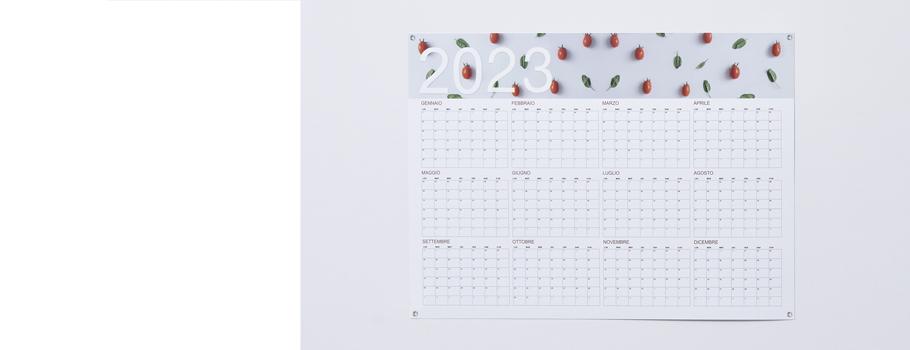 Calendare poster
