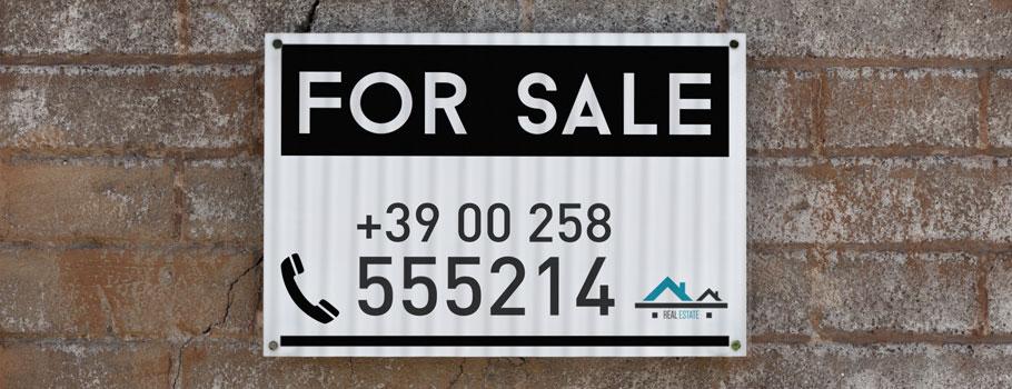 Таблички для агентств недвижимости