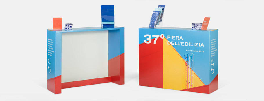 Cardboard Pop-up Counter