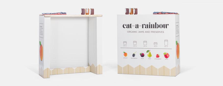 Cardboard Pop-up Counter