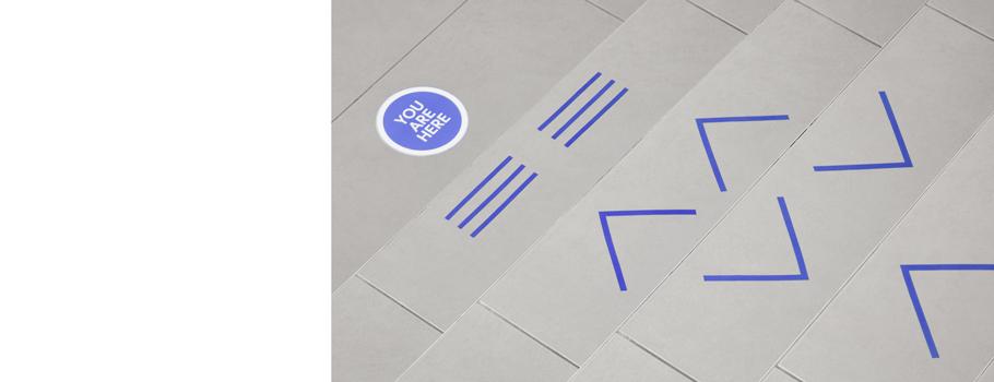 Autocolant pentru podea