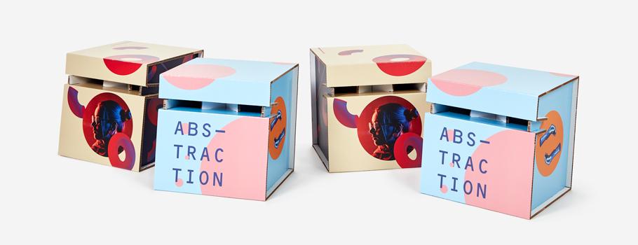 Tabourets en carton