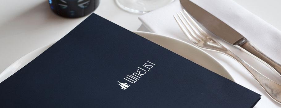 Paper menus