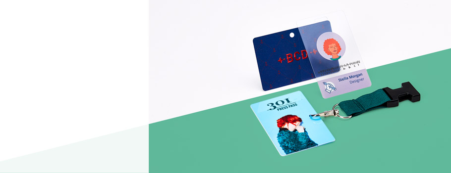 Карточки из ПВХ